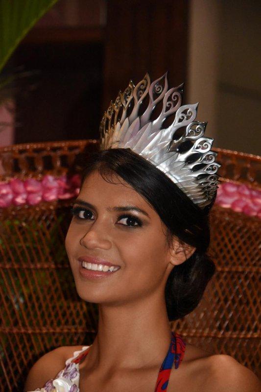 MISS TAHITI 2015 - Vaimiti Teiefitu