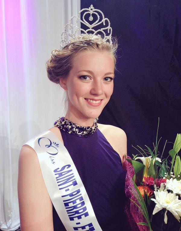 Miss SAINT-PIERRE-ET-MIQUELON 2015 - Julie Briand