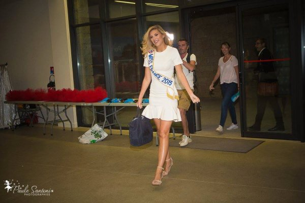 15/09/2015: Camille Cerf/Miss Corse