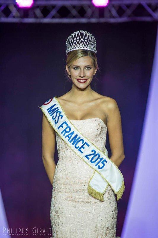 11/10/2015: Camille Cerf/Miss Aquitaine