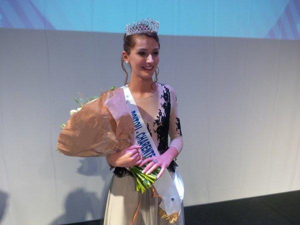 Miss POITOU-CHARENTES - Manon Rougier