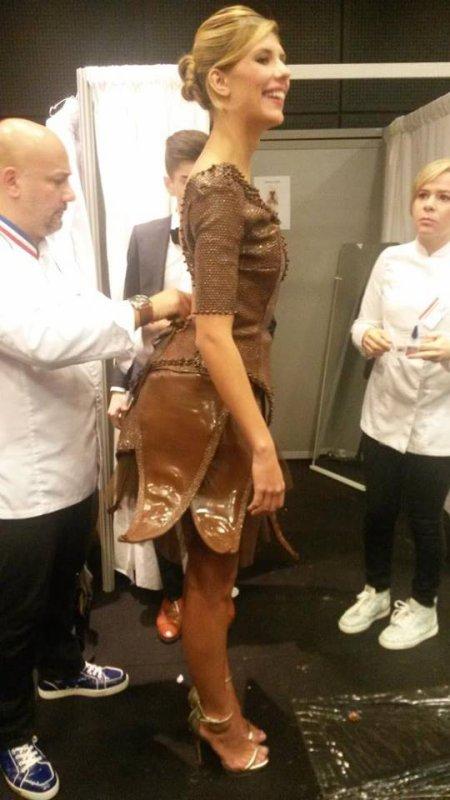 27/10/2015: Camille Cerf/Salon du Chocolat