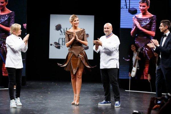 28/10/2015: Camille Cerf/Salon du Chocolat
