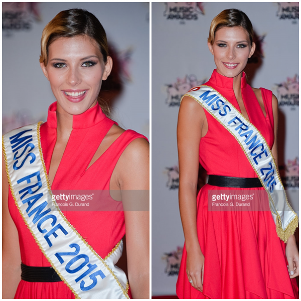 08/11/2015: Camille Cerf/NRJ Music Awards