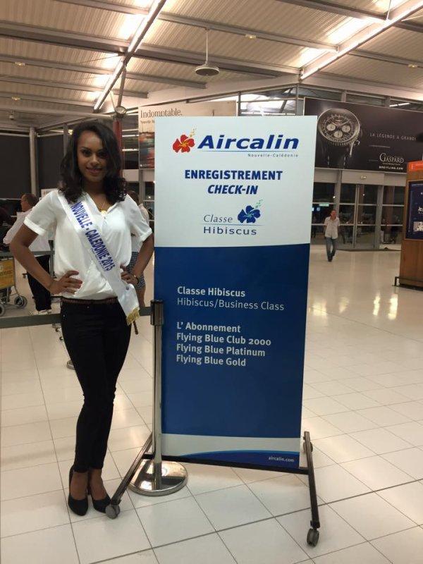13/11/2015: Départ des Miss de l'outre-mer