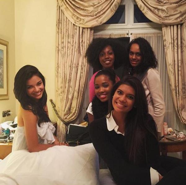 15/11/2015: Miss France 2016/ Arrivée