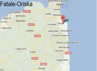 Samedi 18 Oriska sera présente au Select club en Corse .