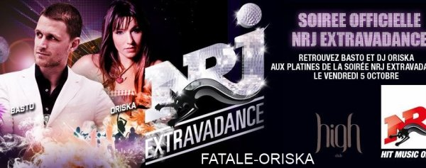 "Nouveau Single DJ Oriska ""Tonight"" + INFO soirée officielle EXTRAVADANCE"