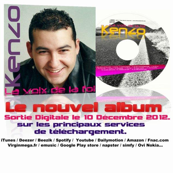 Découvrez le nouvel album de Kenzo