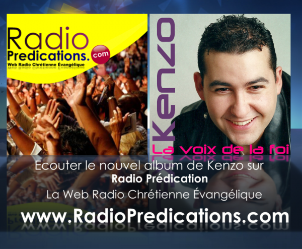 Kenzo David sur RadioPredications.com
