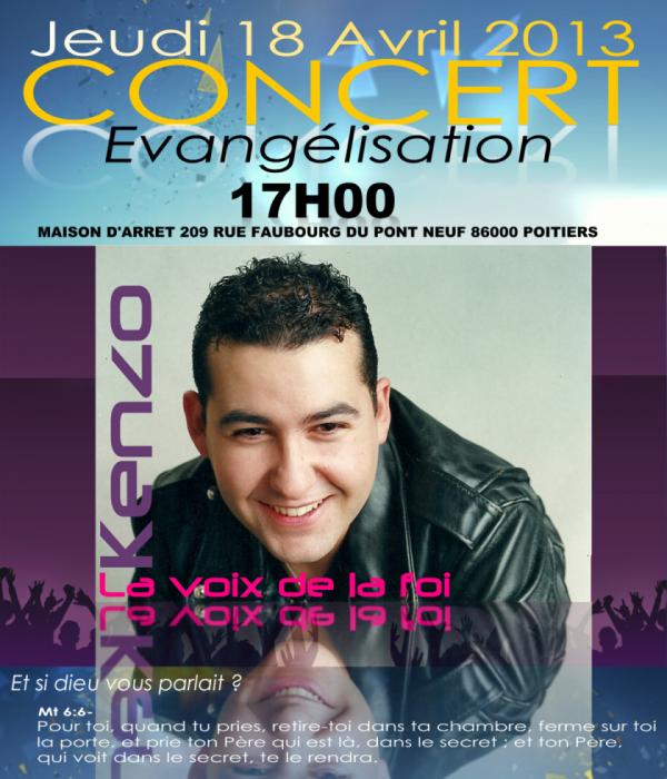 Concert Evangélisation