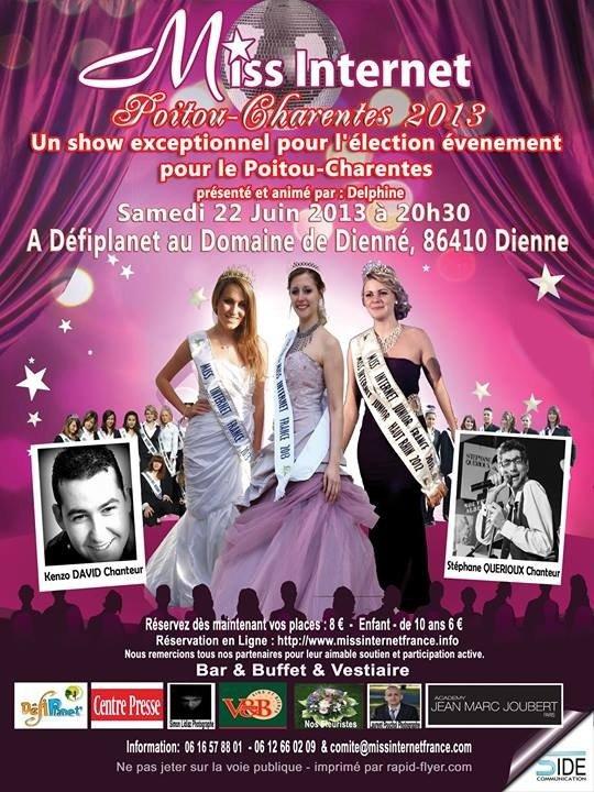 Soirée Miss internet Poitou-Charentes