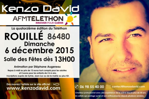 Téléthon 2015 Rouillé