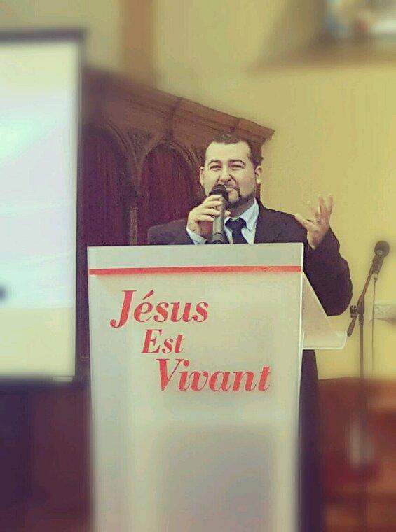 L'évangéliste Kenzo David à Luxembourg