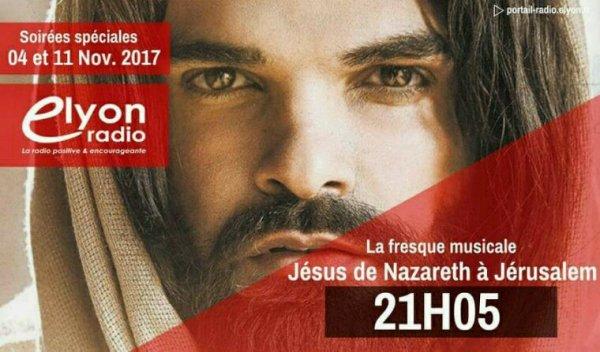 """Soirées spéciales """" Jésus de Nazareth à Jérusalem"""""""