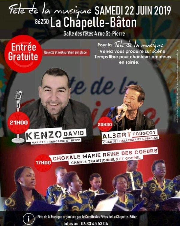 Concert Fête de la musique 2019 !