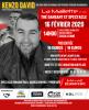 Kenzo David en concert à Locminé le 16 Février 2020