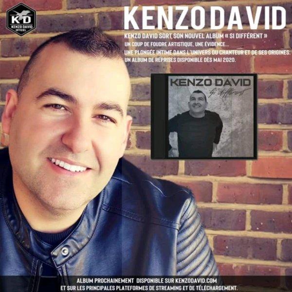 """Le nouvel album """"Si différent"""" by Kenzo David bientôt disponible"""