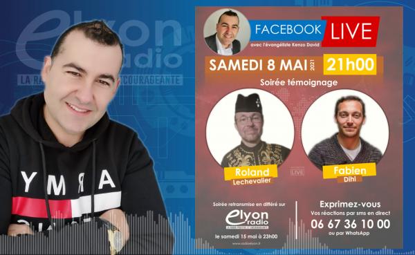 Facebook Live le 8 mai à 21h.