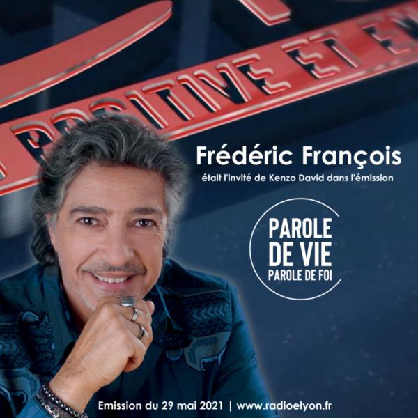 Frédéric François était mon invité sur Radio Elyon