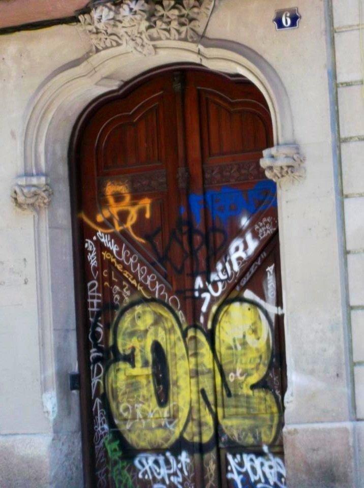La porte de l'espoir.