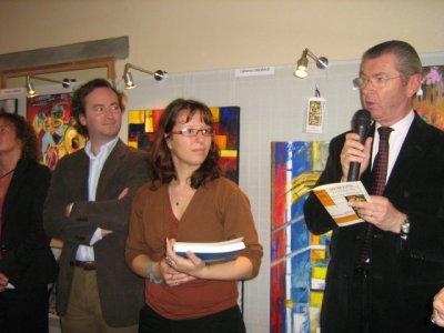 Remise du prix du conseil général de l'Yonne