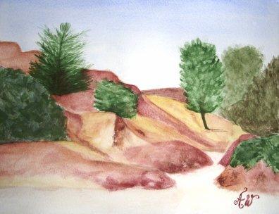 Colorado provençal (Rustrel)