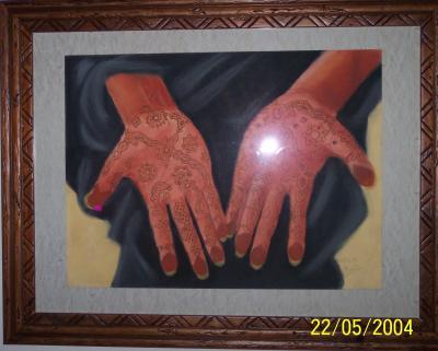 mains arabes