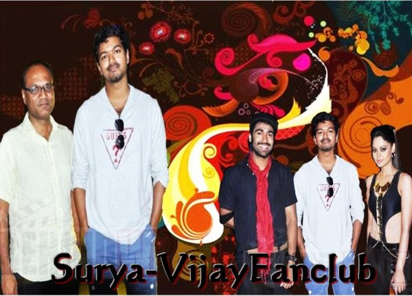 Vijay At Sattam Oru Irrutarai Shooting