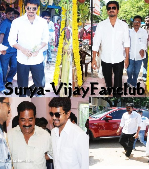 Vijay Launches Appa Family Restaurant