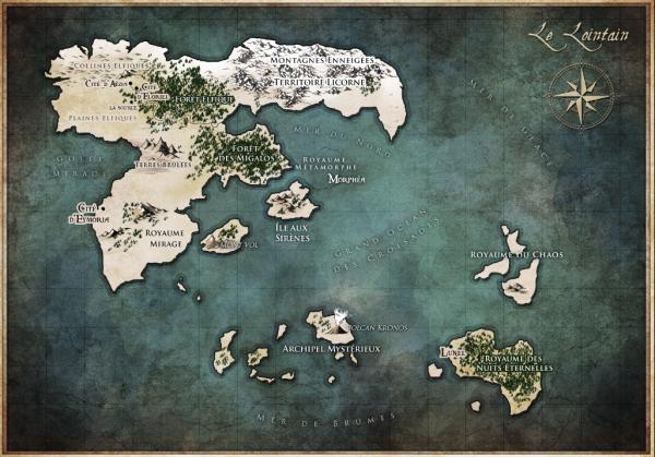 Carte du Lointain