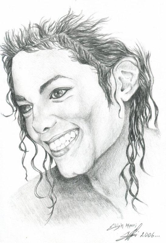 michael jackson dessiner