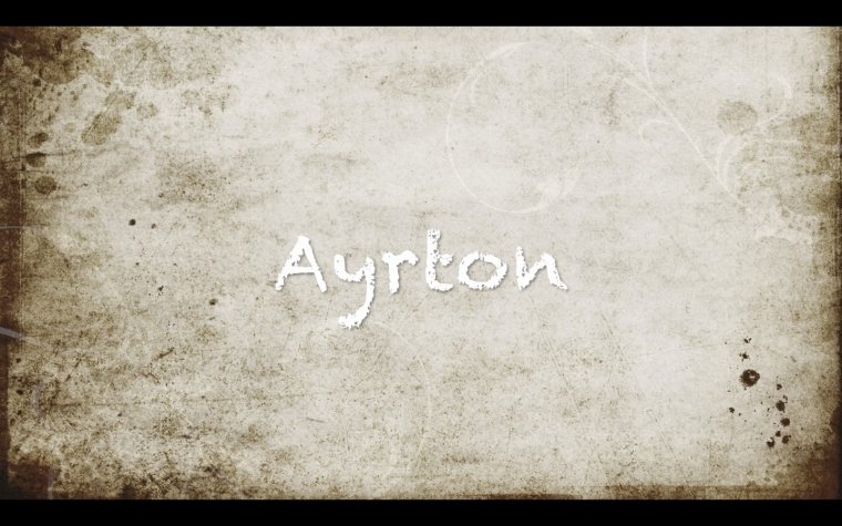 Ayrton, Hayrton, Ayrtton, Hayrtton