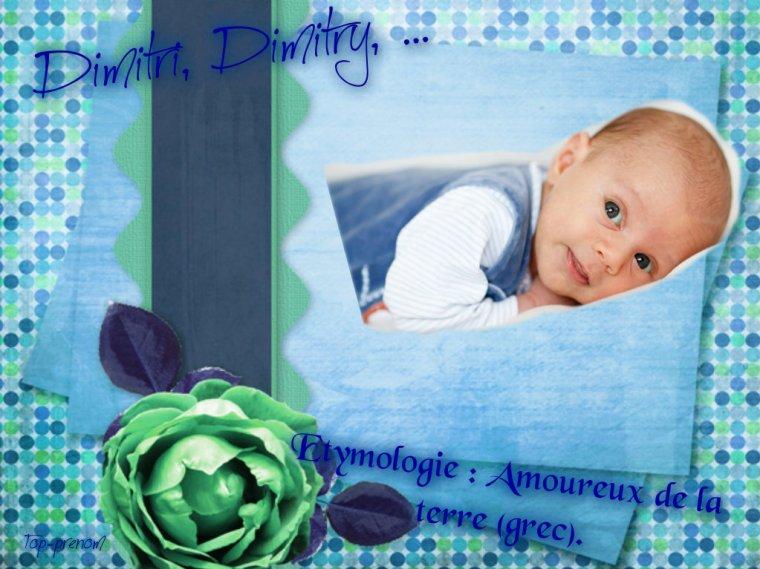 Dimitri, Dimitry, ...