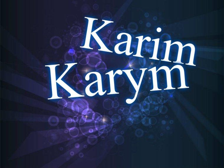 Karim, Karym, ...