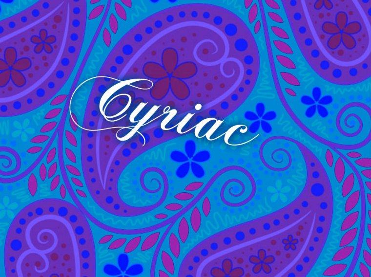 Cyriac