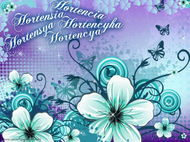 Hortensia, Hortencia, Hortencya, Hortencyha, ...