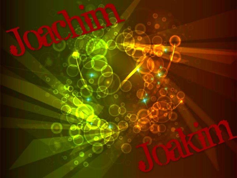 Joachim, Joakim