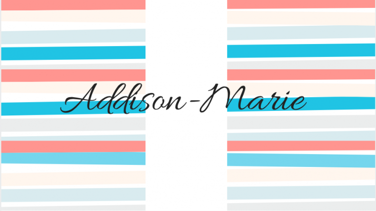 Addison-Marie