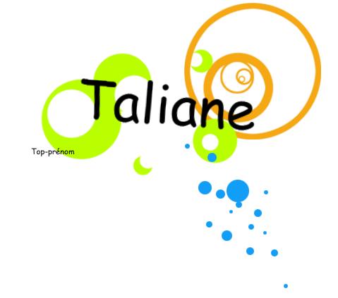 Taliane