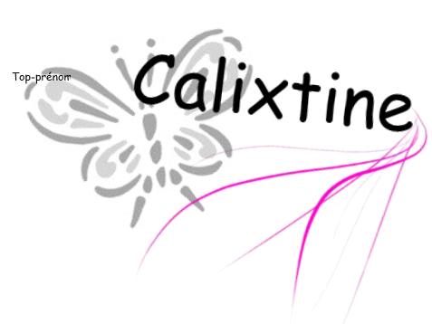 Calixtine