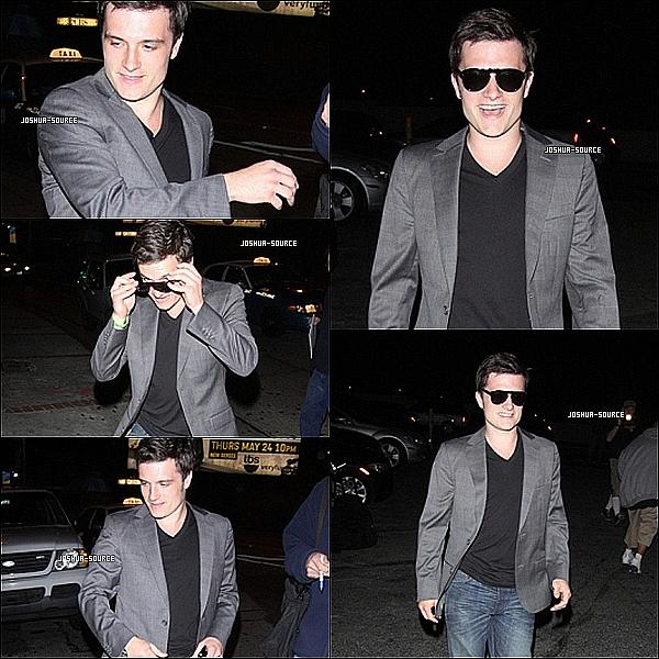 Avant les Awards, Josh a été vu sortant du Chateau Marmont ou il a signé quelques autographes.