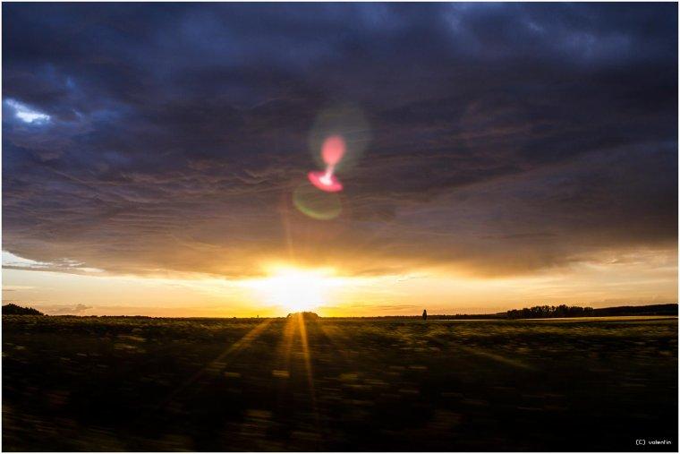 Soleil & Ciel orageux