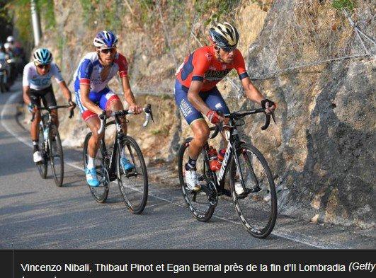 Tour de Lombardie (Ita)  Bergame - Côme 241 km