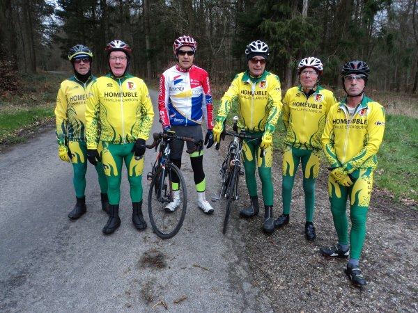 Sortie de la Section Cycliste de Feuquières en Vimeu (80)