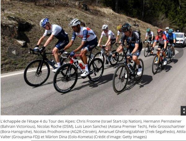 Tour des Alpes 2021