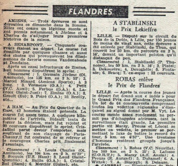Comité des Flandres 1950