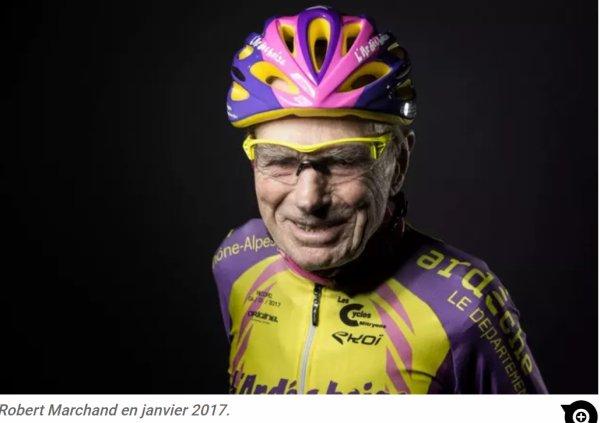 Décès du Français Robert Marchand  à 109 ans