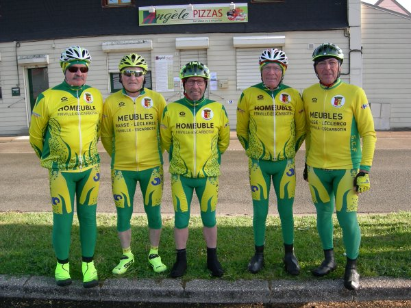 Sortie de la Section Cycliste de Feuquières-en-Vimeu (80)