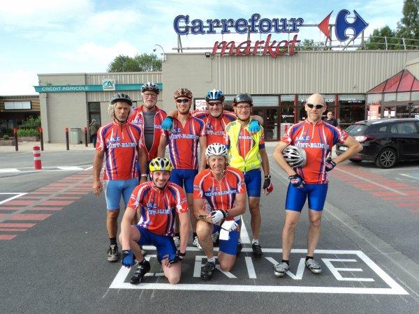 La reprise pour la Section Cycliste de Feuquières-en-Vimeu 80